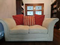 Pillow back 4 seater and 2 seater settee / sofa