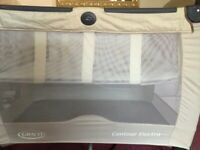 Travel cot 3 months to 3 years old £25 lovely condition I can deliver if