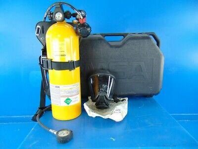 Used Msa Ultralite Ii Low Pressure Scba Mask Harness Regulator And Tank