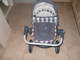Silver Cross toy dolls pram