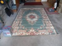 Immaculate, clean and nearly new rug- siz 5 feet 3 inches x 7feet 5 inches