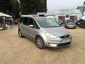 2009 FORD GALAXY 2.0 TDCI AUTO GHIA SPEC FULLY LOADED FSH HPI CLEAR