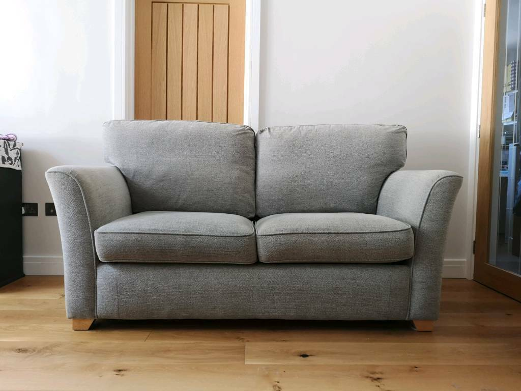 Alstons Upholstery 2 Seat 3 Person Grey Sofabed In