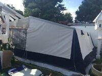 Canvas tent 8 man with living/sleeping windows etc