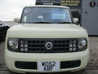 NISSAN CUBE 1.4 5dr Auto (yellow) 2008