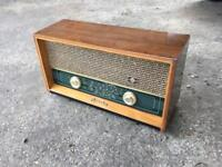 PYE R37 vintage valve radio working
