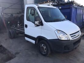 IVECO DAILY CHASSIS CAB 2011REG, MWB TWIN WHEEL FOR SALE