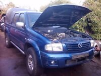 Mazda b2500 ford ranger 2.5td 4x4 double cab breaking for spares / parts - turbo - can post