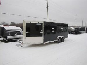 2017 Cargo Express 7' x 29' (EXTREME) ALL ALUMINUM SNOWMOBILE TR
