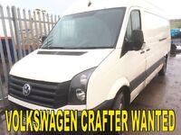 Volkswagen crafter diesel wanted!!!