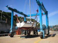 Sailing Yacht Boat, Naja 30, Beta Diesel engine
