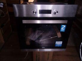 beko built oven never used