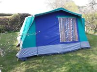 Sunncamp Continental 6 frame tent - good condition