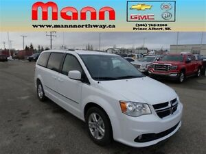 2016 Dodge Grand Caravan Crew - Heated wheel, Heated seats, Rear