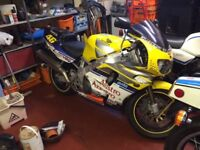 Honda Fireblade 900RS 1995 on SORN damage to side fairing been off road last two years