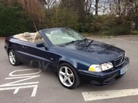 Here's your Toy-Volvo C70T 2-0 manual, power hood, fsh, full mot, 2 lady owner £1295 p/exs-all cards