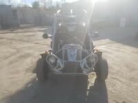 Quadzilla pgo bugrider 250 road legal buggy