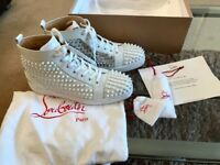 NEW CHRISTIAN LOUBOUTIN MENS UK SIZE 9 100% AUTHENTIC RRP £974.99