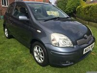 Fabulous Value And Great Condition 05 Yaris BLUE 1.3 Special Edition With Alloys And 56000 HPI Clear