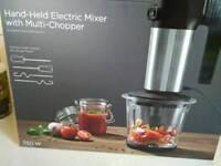 Multi chopper+handheld mixer NEW BOXED