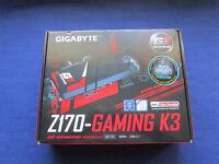 GIGABYTE Z170-GAMING K3 SOCKET 1151 MOTHERBOARD