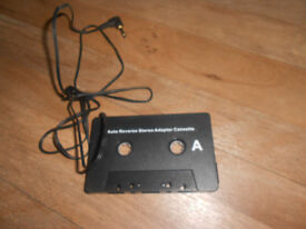 TECHNIKA Cassette TapE Adapter For iPod MP3 Players CD Players
