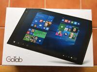 Gotab Windows 10 Tablet, 10 inch, as new.