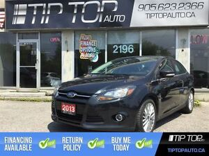 2013 Ford Focus Titanium ** Leather, Sunroof, Bluetooth, Loaded
