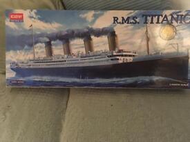Rms titanic model