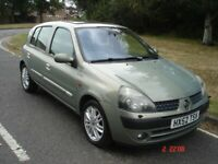 Renault, clio 1.6 automatic initiale 5 door only 65000 miles