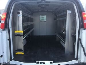 2016 GMC Savana TRADESMAN SHELVING INCLUDED!