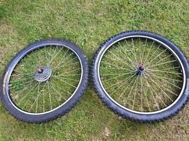 MTB wheel set