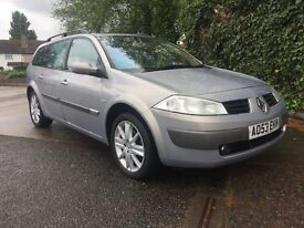 RENAULT MEGAN 1.9L DIESEL-2004-IMMACULATE CONDITION INSIDE AND OUT