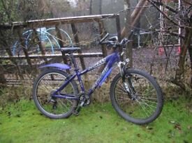 specialised hardrock HR 24 speed runs perfectly,suit lady or gent