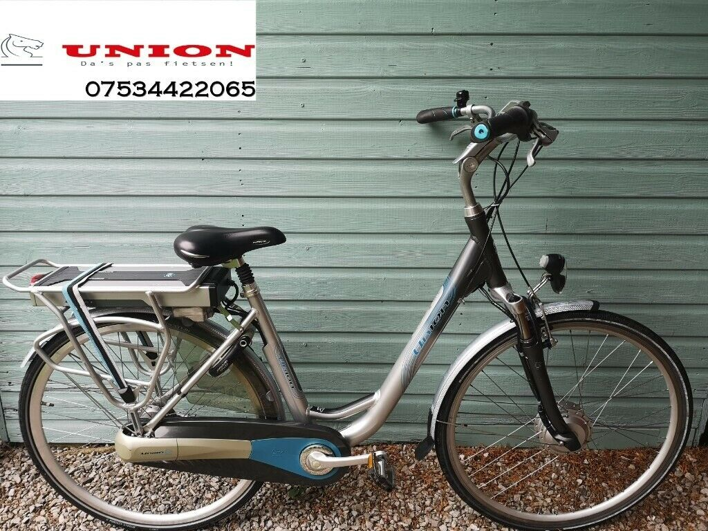 Dutch electric bike Union Switch 19.5 inch frame Shimano ...