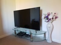 "55"" Glass TV Unit/Stand"