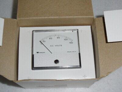 Triplett Model 330-g Panel Meter 0-150 New