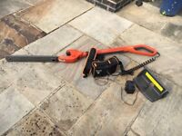 Flymo long arm hedge trimmer. Only used about 3 times. Buyer collects.