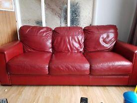 3 seater sofa £30