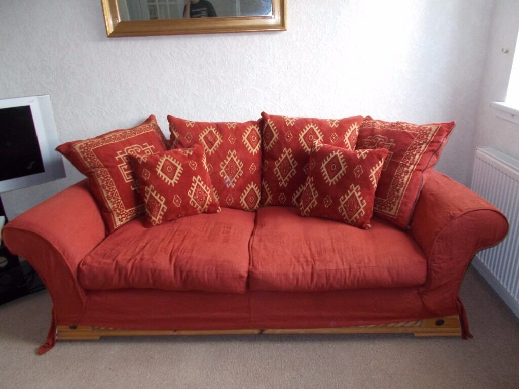 Scatter cushion sofa with changeable covers