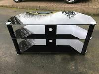 Glass TV stand! IMMACULATE