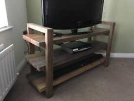 Matching shelves, TV stand and coffee table