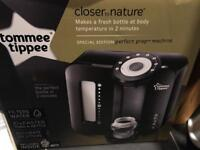 BRAND NEW - Tommee Tippee Perfect Prep machine in black