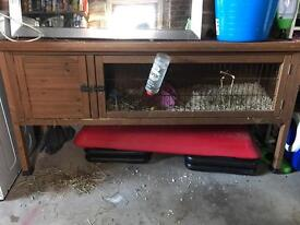 Large Wooden Guinea Pig Penthouse