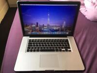 "Macbook pro 15"" late 2011 2.4ghz i7 16bg ram 320gb SSD BARGAIN !!!!"