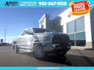 2017 Ram 2500 CREW - 4X4, LEATHER, TOUCHSCREEN, HEATED SEATS