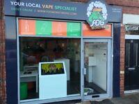 Fog Monsters Vape Shop For Sale