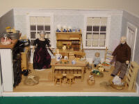 Dolls House - country kitchen