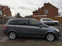 Vauxhall Zafira diesel 7 Seater Grey MOT until Jan 2017 Quick Sale £1600