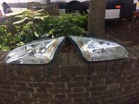 Focus headlights N rear lights
